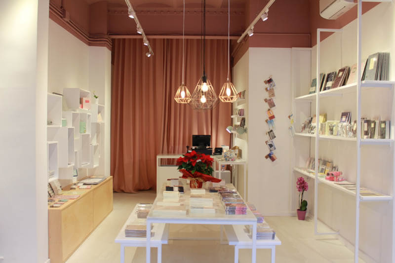 Entrop a barcelona 39 s designer stationary shop barcelona design tours - Nogales interiorismo ...