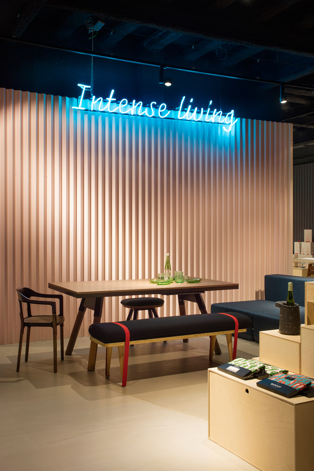 'Intense Living' Design Showroom from RS Barcelona
