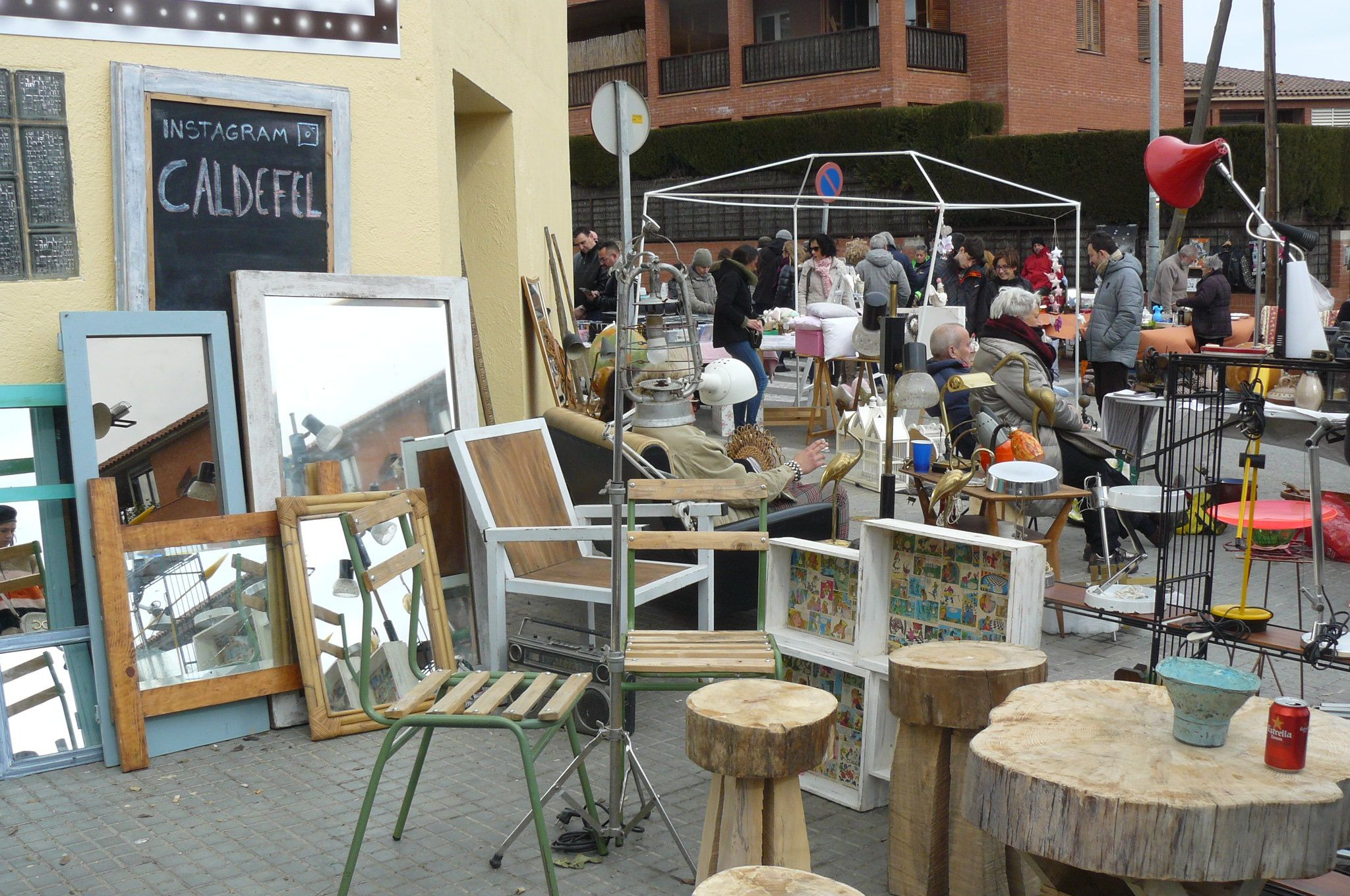 Mercantic The Best Vintage Market In Barcelona  # Sant Cugat Muebles Antiguos
