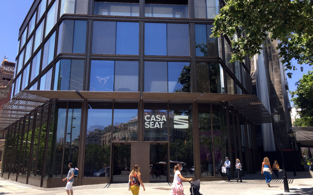 CASA SEAT, A home for SEAT in Barcelona